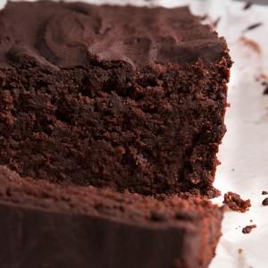 Chokoladekage med god samvittighed